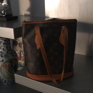 Louis Vuitton small bucket bag